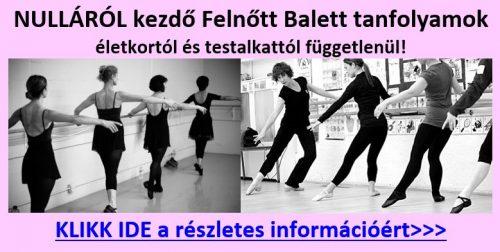 Balett felnőtteknek