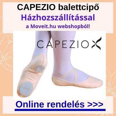 Capezio balettcipőt rendelhetsz több méretben és fazonban a webshopban