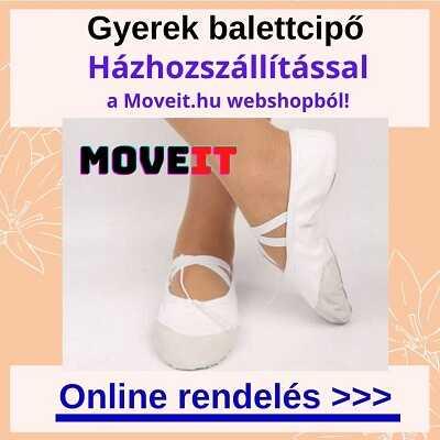 Gyerek balettcipő online vásárlás, több méretben és fazonban