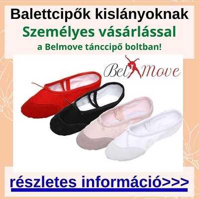 Balettcipő kislányoknak vásárlás a boltban, több méretben és fazonban