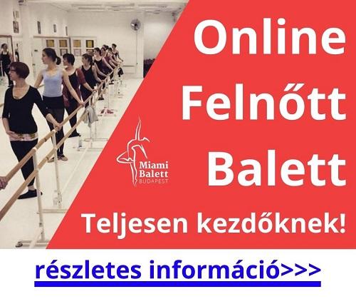 Online balett óra